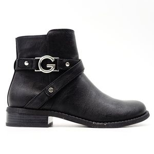 New G by GUESS Hoda Faux Leather Ankle Booties